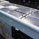 این نوع اتوبوس استانبول ، اولین اتوبوس با انرژی خورشیدی مورد استفاده در حمل و نقل عمومی در ترکیه ، دیروز در استانبول رونمایی شد که به عنوان افزایش انرژی تجدید پذیر به کشور مورد استفاده قرار می گیرد .