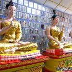 معبد وات چایا مانگ کالارام ، بزرگترین ، معبد تایلندی در پنانگ - مالزی است .