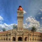 ساختمان سلطان عبدالصمد در سال 1897 ساخته شد و توسط یک معمار انگلیسی، به نام ای سی نورمن (AC Norman) به سبک معماری اسلامی طراحی شده است.